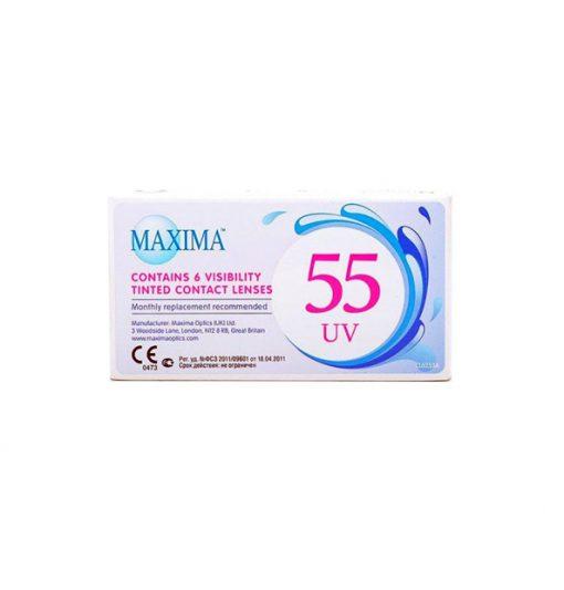 لنز طبی ماکسیما 55uv